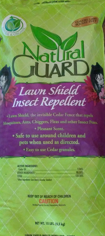 10lb. Natural Guard Lawn Shield Insect Repellent