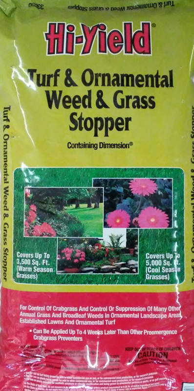 12lb. Hi-Yield Turf and Ornamental Weed and Grass Stopper