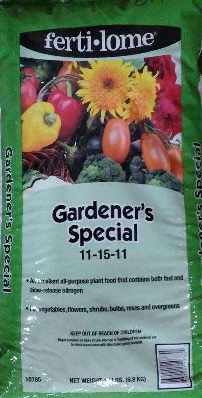 15lb. Fertilome Gardener's Special