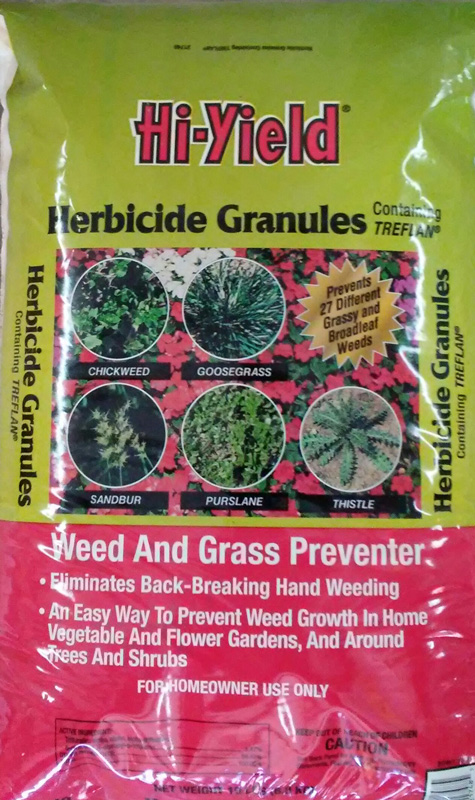 15lb. Hi-Yield Herbicide Granules