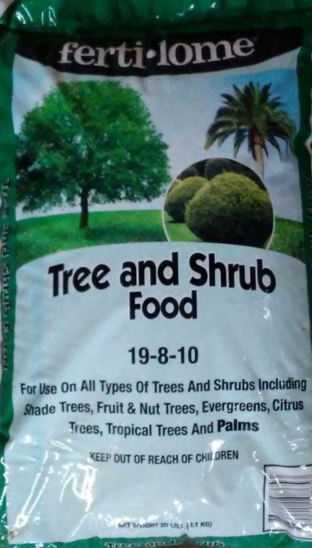 20lb Fertilome Tree and Shrub Food