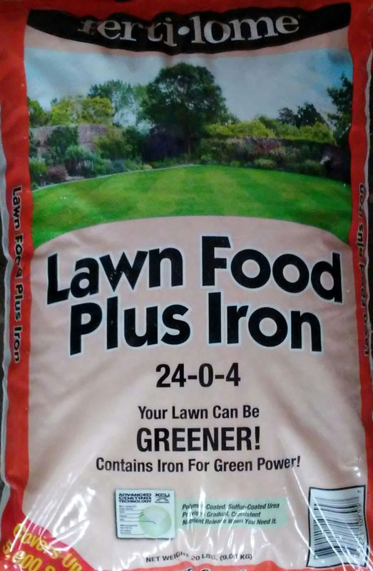 20lb. Fertilome Lawn Food Plus Iron