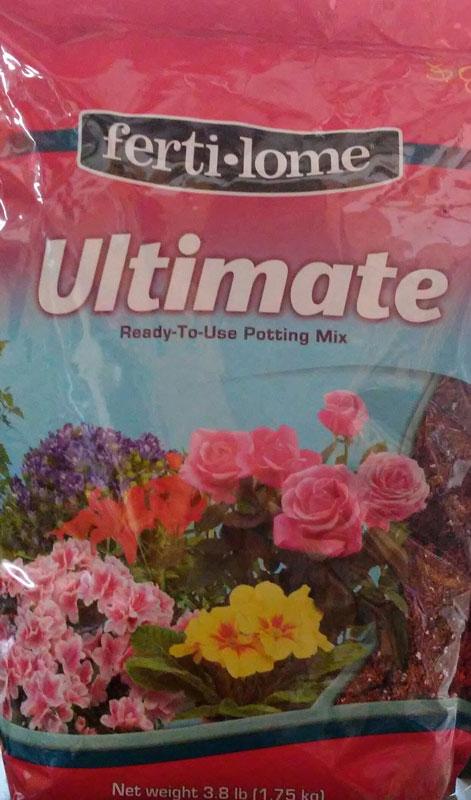 3.8-lb Fertilome Ultimate Potting Soil