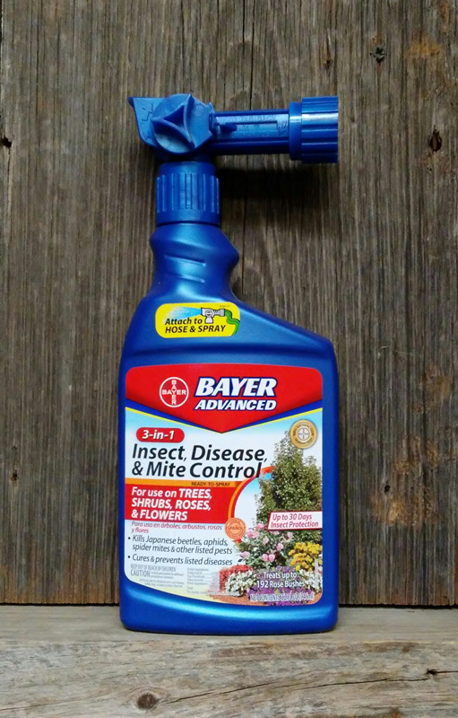 32oz. Bayer Advanced 3-in-1 Insect, Disease and Mite Control with Hose End Sprayer