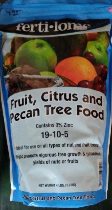 4lb. Fertilome Fruit, Citrus and Pecan Tree Food