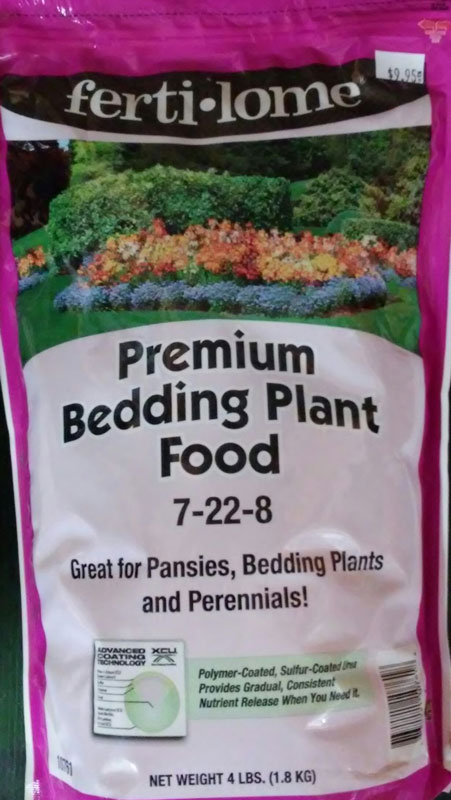 4lb. Fertilome Premium Bedding Plant Food