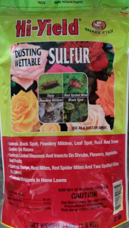 4lb. Hi-Yield Dusting Wettable Sulfur