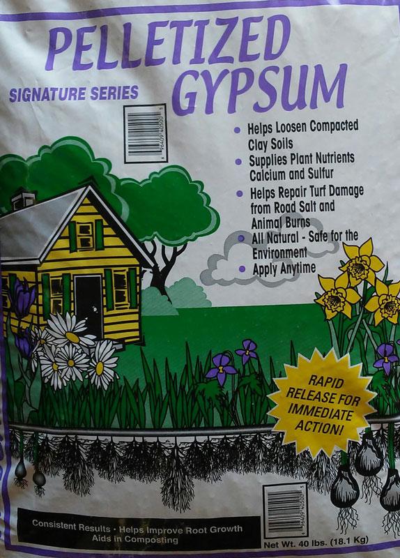 40lb. Pelletized Gypsum